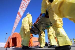 Pacient cu Ebola pe Aeroportul Henri Coandă. Din fericire, a fost doar o simulare