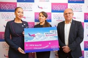 Din iunie 2020, Wizz Air va opera cu 12 aeronave de la București