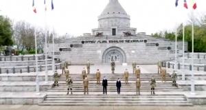 VIDEO - Militari români, filmați din dronă chiar în Capitală. Ziua aleasă, de însemnătate maximă pentru Armata României
