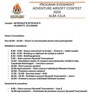 """Se dă startul evenimentului """"Adventure Airsoft Contest IV"""""""