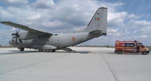 VIDEO – Eroii aerului își ajută colegii SMURD în lupta împotriva SARS-CoV-2